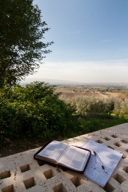 Altogether not a bad place to write a paper.