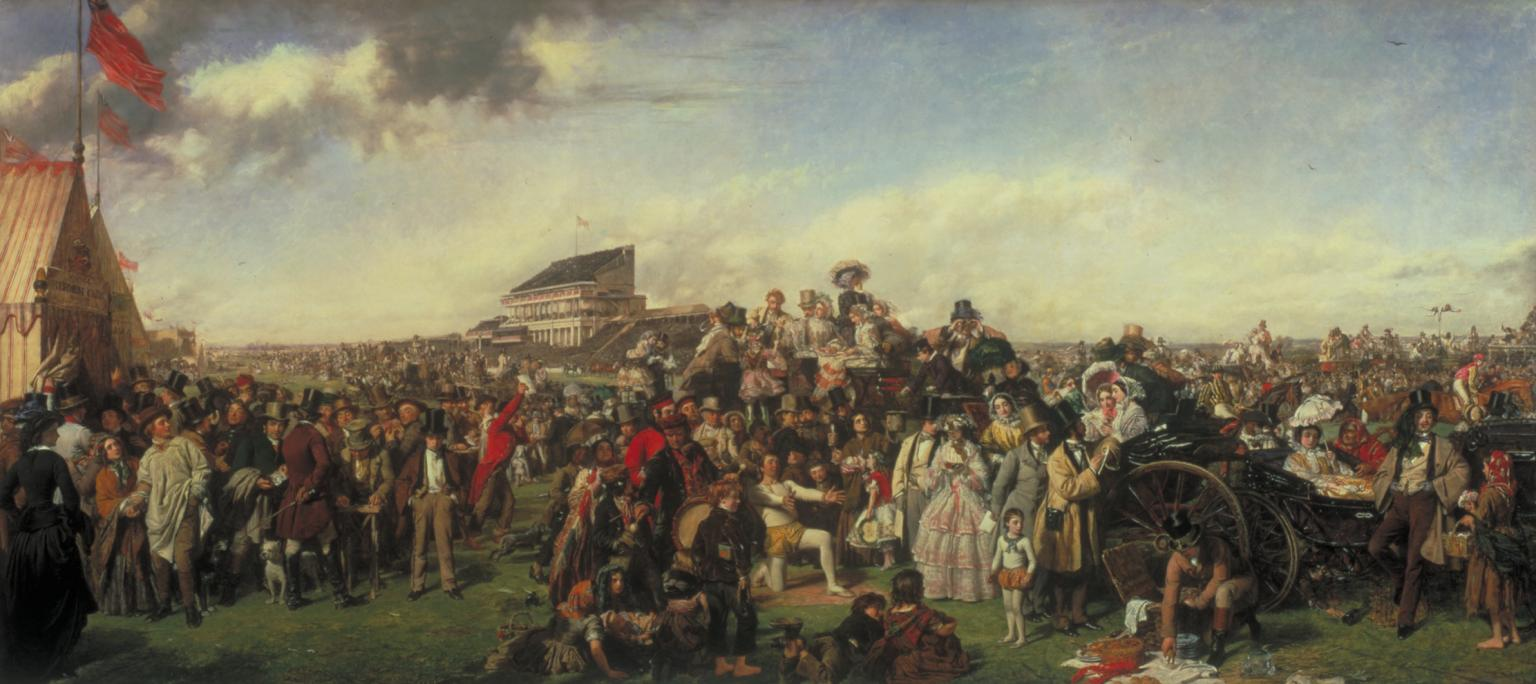 William Powell Frith,Derby Day,1856-8