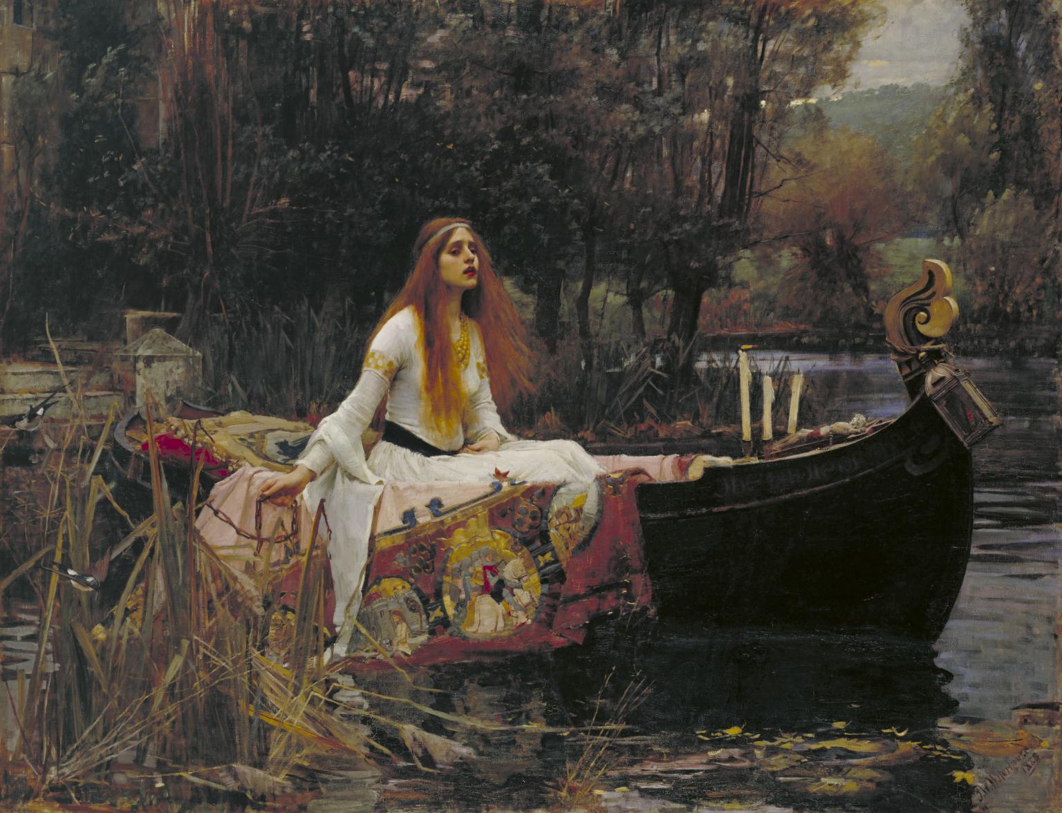 John William Waterhouse, The Lady of Shallot, 1888