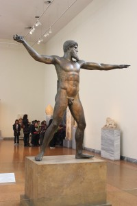 A very famous and very rare bronze statue at the National Archeological Museum